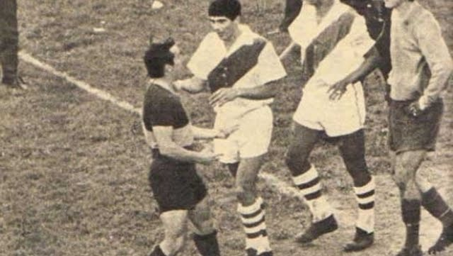 La cargada de Menéndez a los jugadores de River provocó una batalla campal.