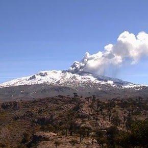 El volcán Copahue registró 14 movimientos sísmicos y elevan el nivel de alerta a naranja