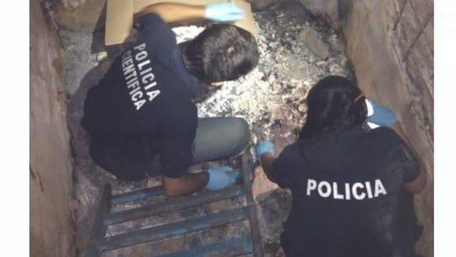 Los huesos fueron encontrados en un galpón de la calle Luchter al 200, en Ciudadela.
