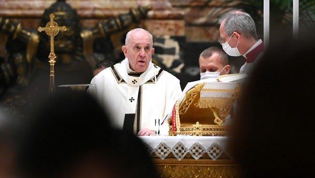 El sumo pontífice encabezó la última audiencia en el Vaticano.